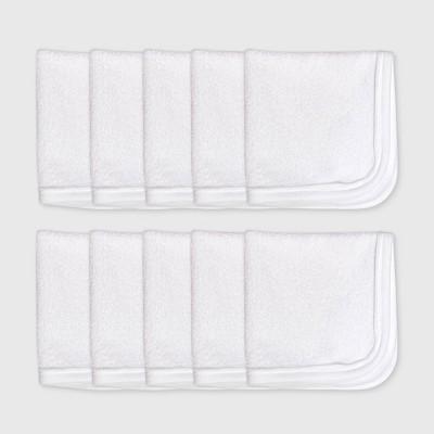 Honest Baby 10pk Organic Cotton Washcloth
