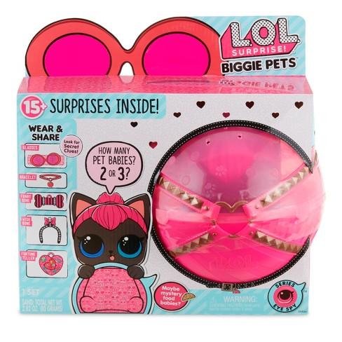 L O L Surprise Biggie Pet Spicy Kitty Target