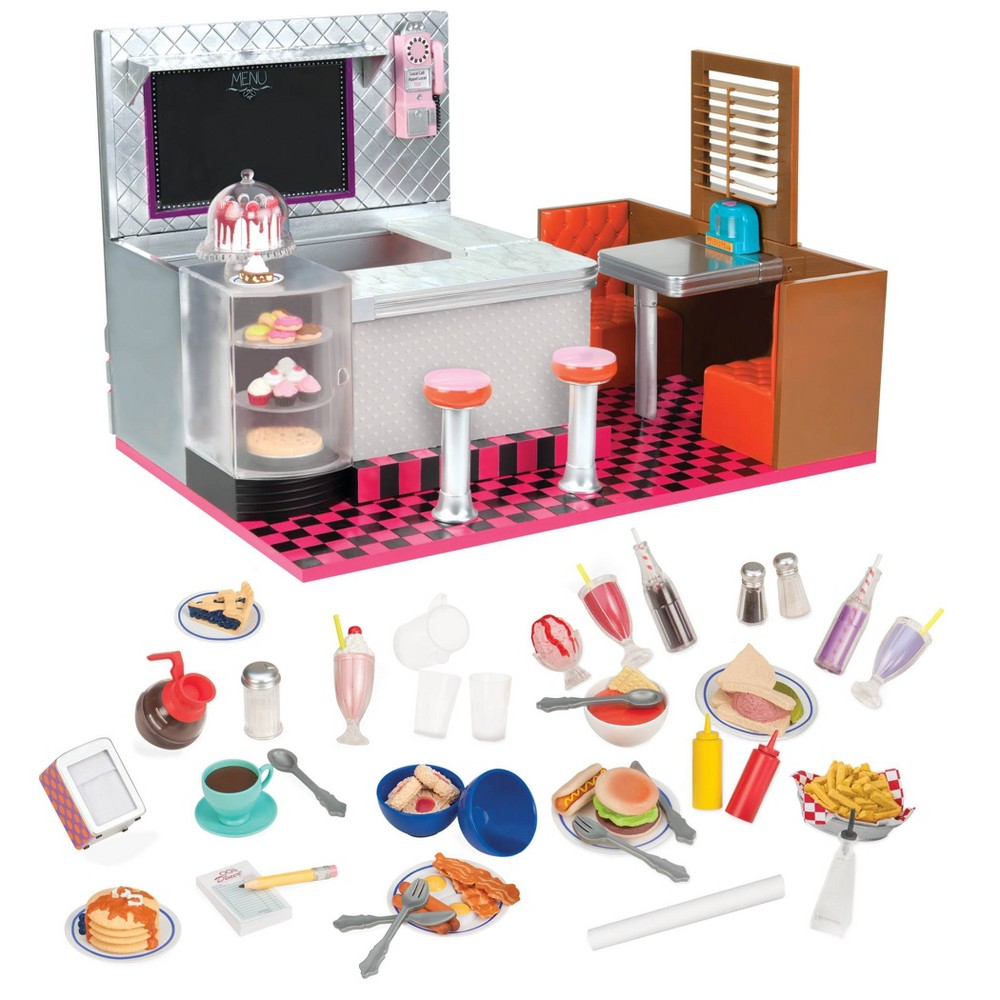 Our Generation Bite To Eat Retro Diner For 18 Dolls