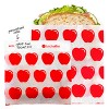 Lunchskins Recyclable & Sealable Paper Sandwich Bags - Apple - 50ct - image 2 of 4