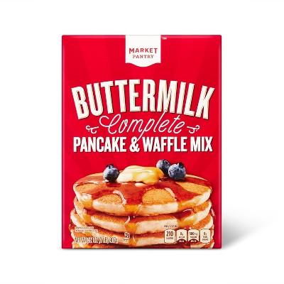Buttermilk Complete Pancake & Waffle Mix - 32oz - Market Pantry™