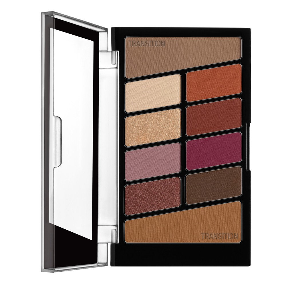 Image of Wet n Wild Color Icon 10-Pan Eyeshadow Palette Rosé in the Air - 0.3oz