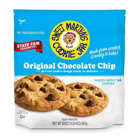 Sweet Martha's Original Chocolate Chip Frozen Cookie Dough - 20oz - image 1 of 3