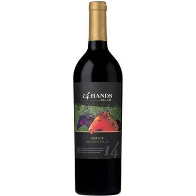 14 Hands Merlot Red Wine - 750ml Bottle