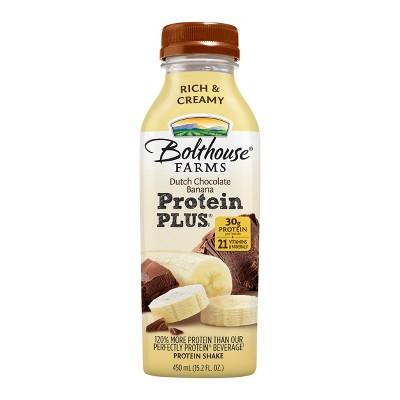 Bolthouse Farms Protein+ Dutch Chocolate Banana Shake - 15.2 fl oz