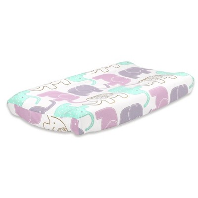 The Peanutshell Little Peanut Changing Pad Cover - Lilac