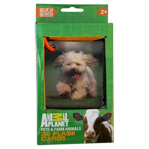 Smart Play Animal Planet Pets & Farm 3D Flash Cards - image 1 of 2
