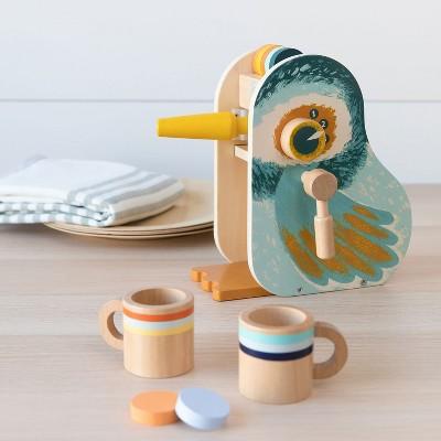 Manhattan Toy Early Bird Espresso Toddler & Kids Pretend Play Cooking Toy Set