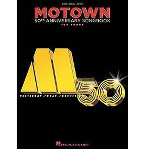 Motown 50th Anniversary Songbook : 100 Songs: Piano, Vocal, Guitar (Paperback) - image 1 of 1