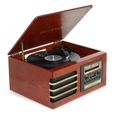 Victrola Ellington Bluetooth 3-speed Record Player (Mahogany)