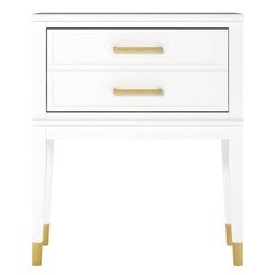 Westerleigh End Table White - CosmoLiving by Cosmopolitan