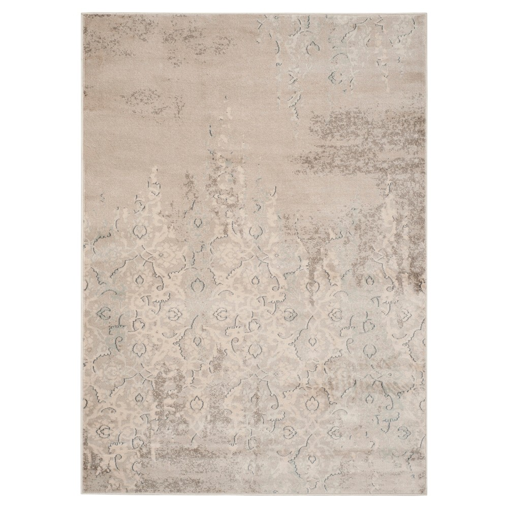 Best Review Monroe Vintage Area Rug Gray Ivory 4 X 5 7 Safavieh