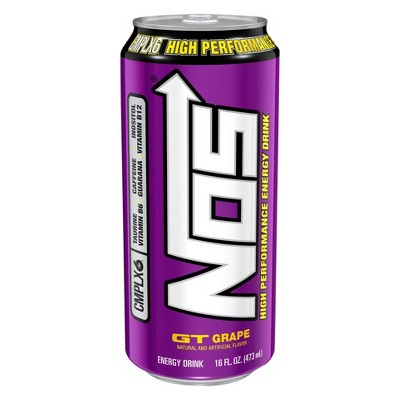 Energy & Sports Drinks: NOS