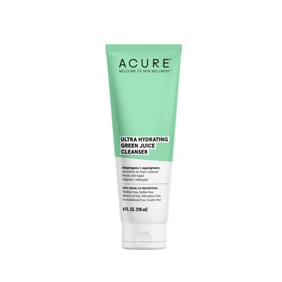 Acure Ultra Hydrating Green Juice Cleanser - 4 fl oz