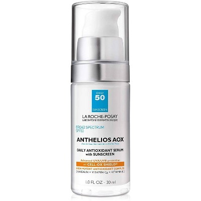 La Roche-Posay Anthelios AOX Daily Antioxidant Face Serum with Sunscreen - SPF 50 - 1.0 fl oz