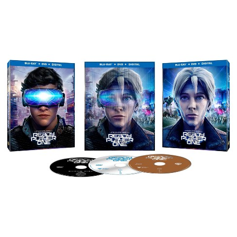 Ready Player One (Blu-Ray Exclusive) (Blu-Ray + DVD + Digital) - image 1 of 1