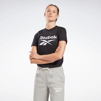 Reebok Identity Logo T-Shirt Womens Athletic T-Shirts