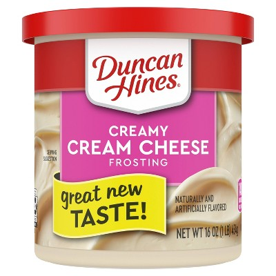 Duncan Hines Cream Cheese Frosting - 16oz