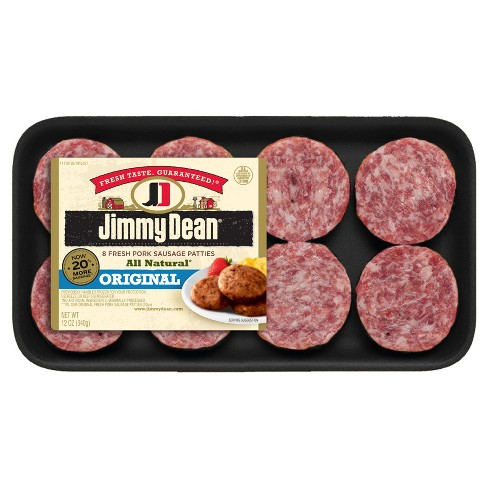 Jimmy Dean Fresh Sausage Patties - 8ct/12oz - image 1 of 1