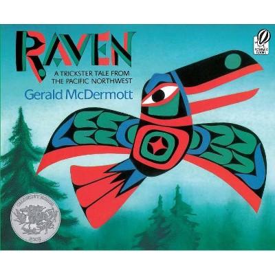 Raven - by  Gerald McDermott (Paperback)
