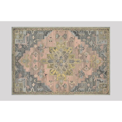 Damask Tufted Vintage Wool Rug - Threshold™ - image 1 of 2