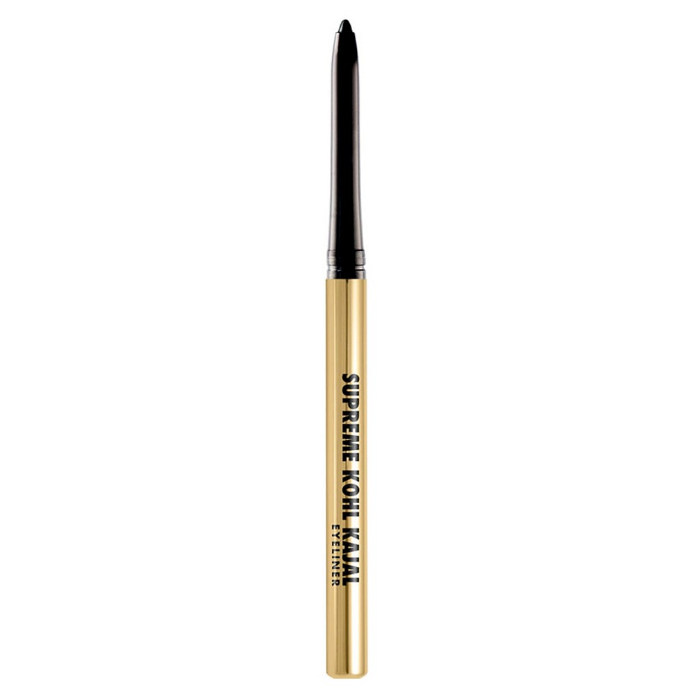 Milani Supreme Kohl Kajal Eyeliner Pencil - Blackest Black Bring out the smoldering intensity of your eyes with Milani Supreme Kohl Kajal Eyeliner Pencil. You can tight line, define your waterline or create a stunning cat eye with the long-lasting, deep black kohl formula. The smooth, self-sharpening tip is perfect for precise application. Color: Blackest Black.