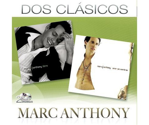 Marc Anthony - Dos Clásicos (CD) - image 1 of 1