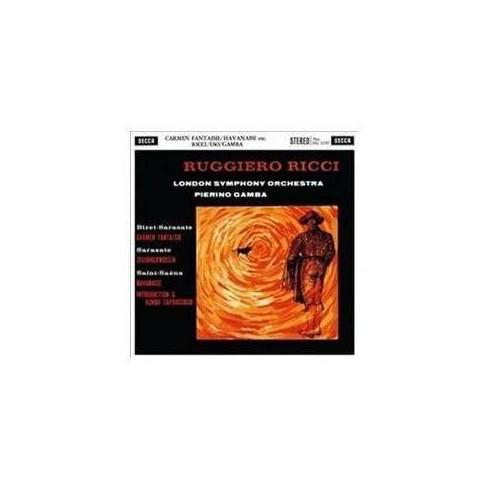 Ruggiero Ricci - Bizet/De Sarasate/Saint-Saens: Carmen Fantaisie/Zigeunerweisen/Havanaise (Vinyl) - image 1 of 1