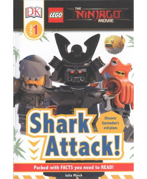 Shark Attack! (Hardcover) (Julia March) - image 1 of 1