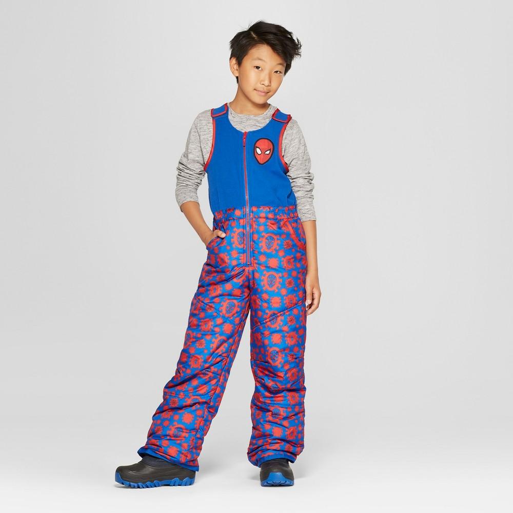 Boys' Spider-Man Snow Bib - Red M
