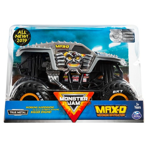 Monster Jam Official Max D Monster Truck Die-Cast Vehicle - image 1 of 5