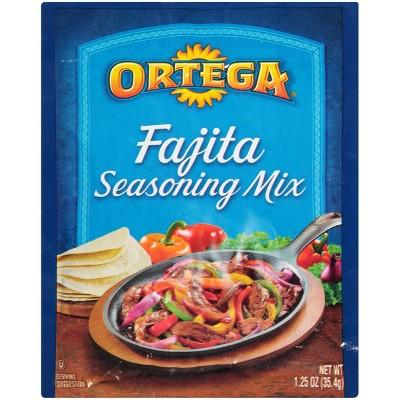 Ortega Fajita Seasoning Mix 1.25oz