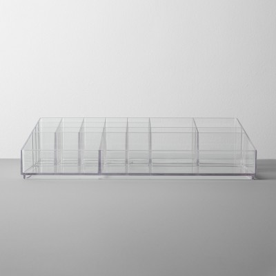 Bathroom Plastic Extra Large Cosmetic Organizer Clear - Made By Design™