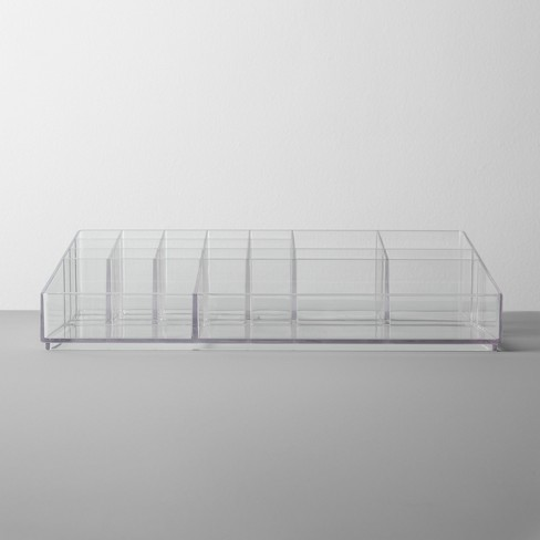 Bathroom Plastic Extra Large Cosmetic Organizer Clear - Made By Design™ - image 1 of 4