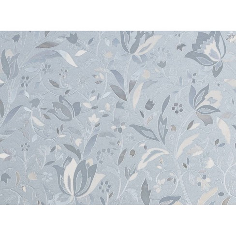 Brewster Cut Floral Sidelight Premium Film Clear - image 1 of 2