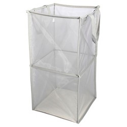 Mesh Spiral Hamper Gray - Room Essentials™