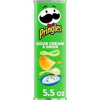 Pringles Sour Cream & Onion Potato Crisps Chips - 5.5oz