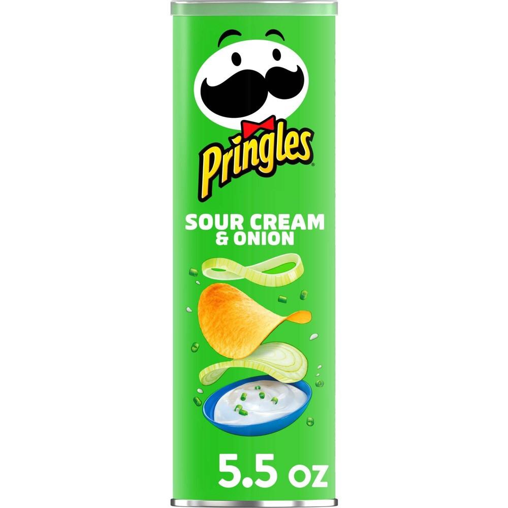 Pringles Sour Cream 38 Onion Potato Crisps Chips 5 5oz