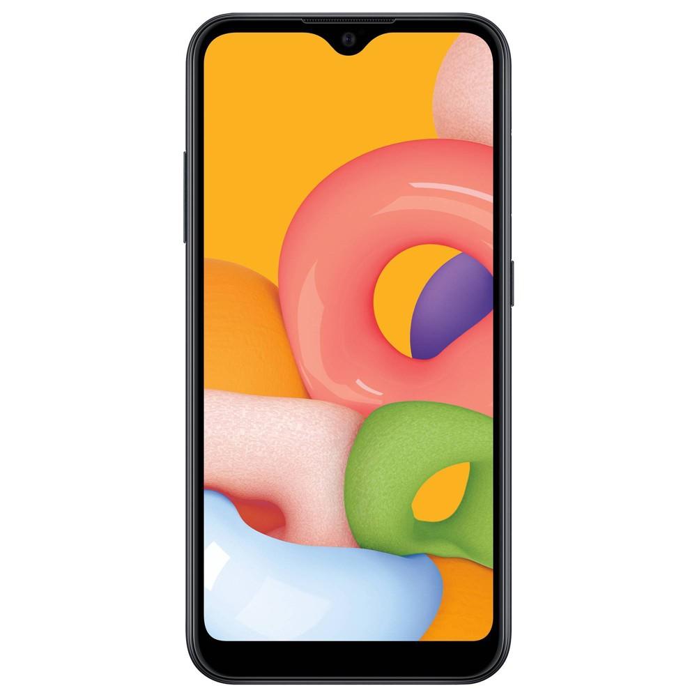 Tracfone Samsung Prepaid Galaxy A01 4g Lte Smartphone 16gb Black