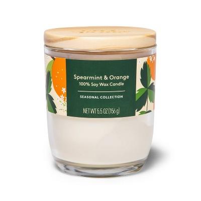 Spearmint & Orange Candle - 5.5oz - Everspring™