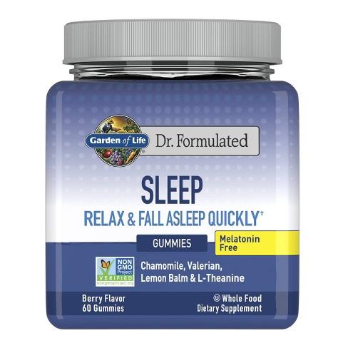 Garden of Life Dr. Formulated Adult Melatonin Free Sleep Gummies - 60ct - image 1 of 4