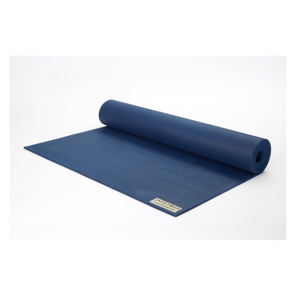 Jade Yoga Harmony Pro Yoga Mat - Midnight Blue (4.5mm)