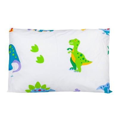 Dinosaur Land 100% Cotton Hypoallergenic Pillow Case - WildKin