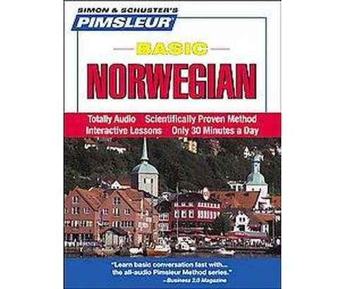 Pimsleur Basic Norwegian (Bilingual) (Compact Disc) - image 1 of 1