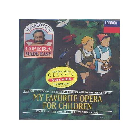 Bizet - My Favorite Opera for Children (CD) - image 1 of 1