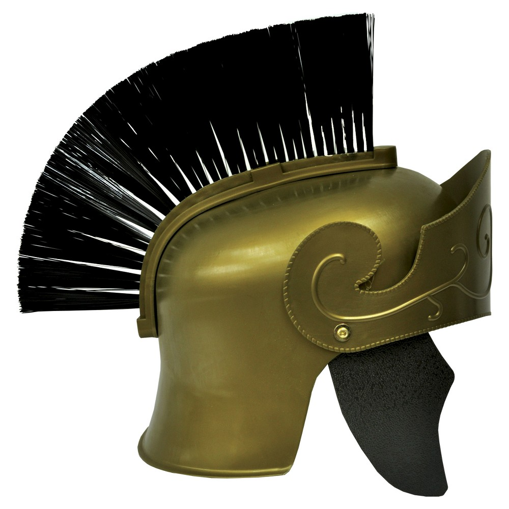 Image of Roman Helmet With Brush
