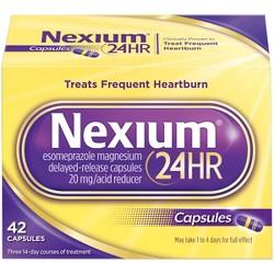 Nexium 24HR Delayed Release Heartburn Relief Capsules - Esomeprazole Magnesium Acid Reducer