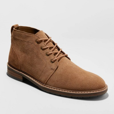Men's Brantley Genuine Leather Chukka Boots - Goodfellow & Co™ Brown