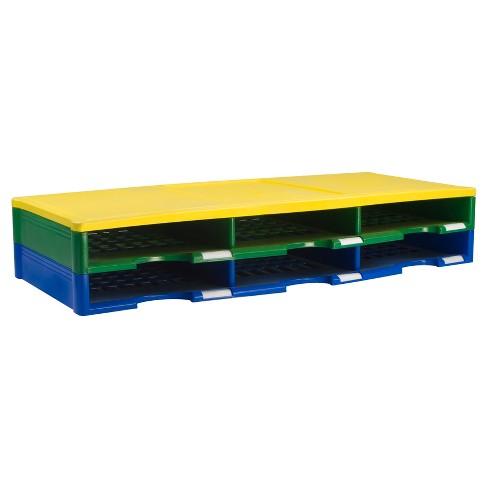 Storex Literature Organizer 6 Compartments - Multicolor - image 1 of 1