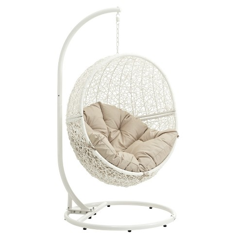 hide outdoor patio swing chair modway - Patio Swing Chair
